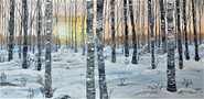 Winter birches SOLD