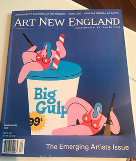 Art New England Magazine