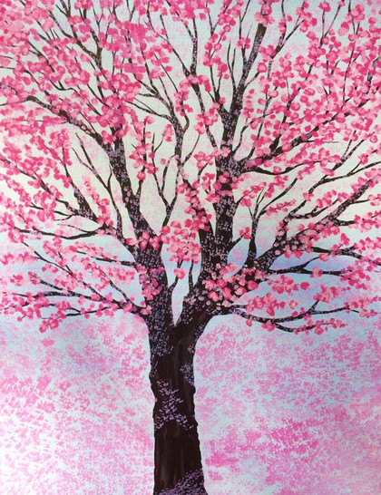 Spring tree SOLD