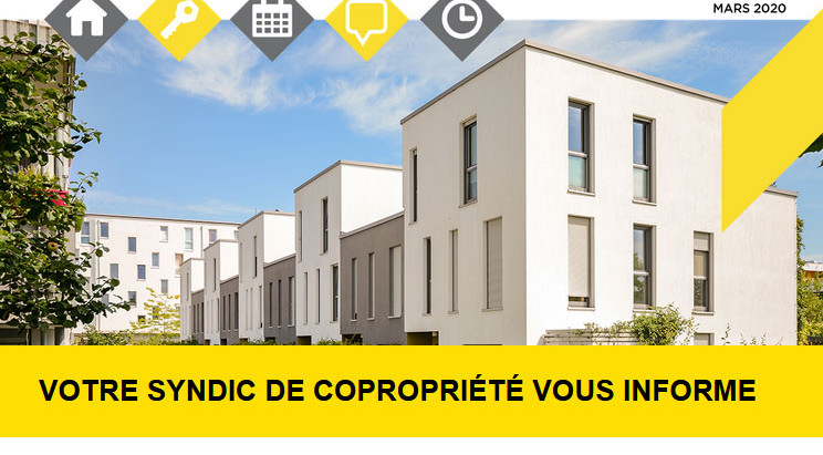 NEWSLETTER SYNDIC FNAIM MARS 2020