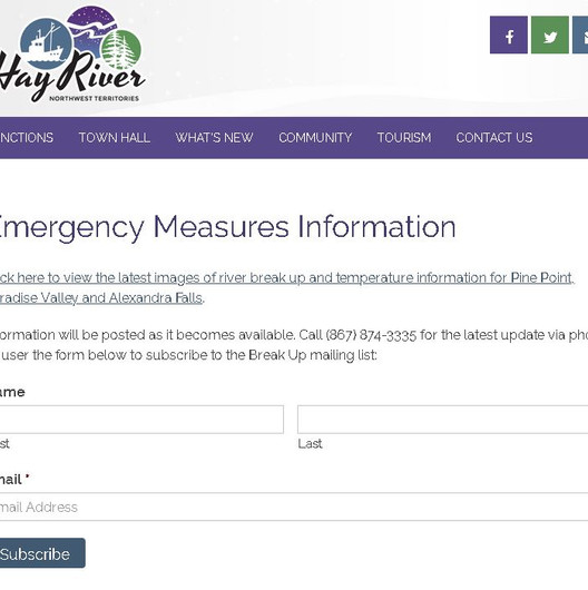 Emergency Measures Information