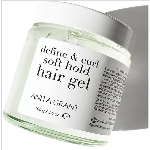 DEFINE & CURL SOFT HOLD HAIR GEL