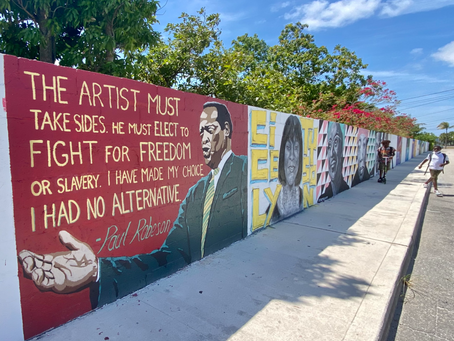'Black Lives Matter' is a divisive phrase for unity murals on former Lake Worth 'segregation wall'