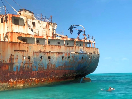 You Don't Have to be James Bond to Sneak Aboard and Jump Off a Russian Freighter