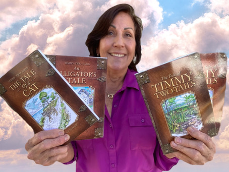 The Tale of a Two-Tailed Lizard who Inspired a Lake Worth Beach Writer to Create Children's Books