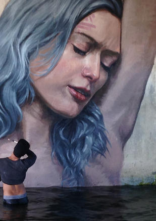 Hula the mural artist