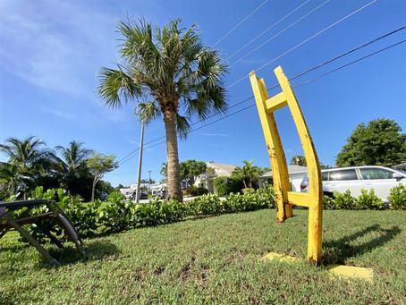 Did 9/11 wreckage inspire Lake Worth Beach yard sculpture? New York artist who created it wonders