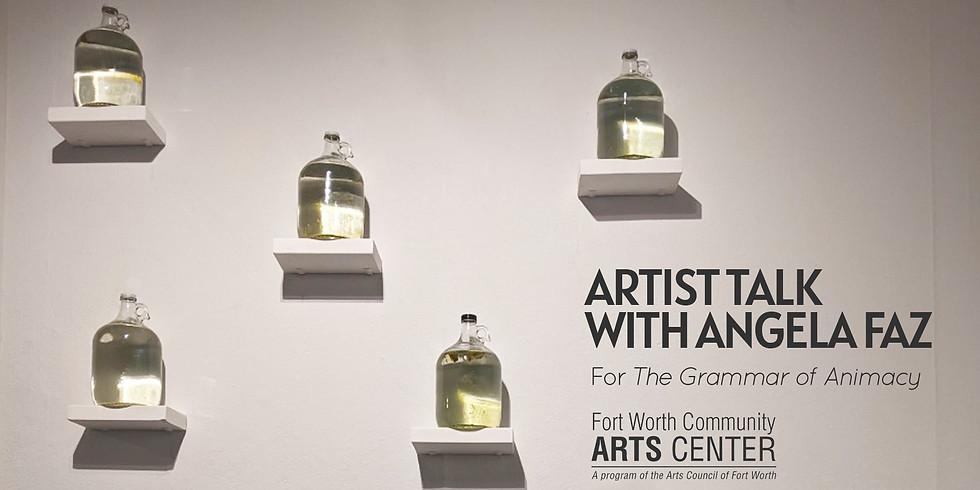 Artist Talk with Angela Faz