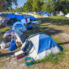 Trouble in Tent City