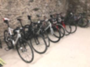 Garage à vélo de l'auberge du Freney