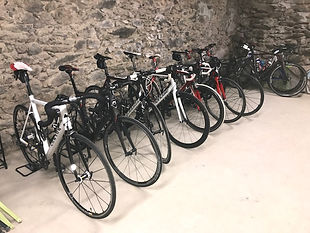 Garage à vélo de l'auberge du Freney