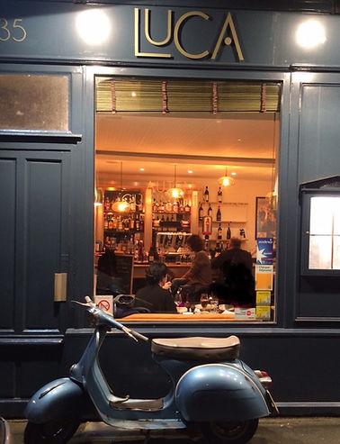 Luca restaurant italien a rennes