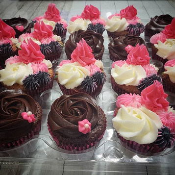 These cupcakes were made for a princess