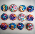 These are #mermaid cupcakes to go with t