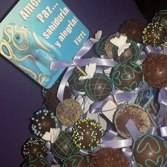 Elefant cake pops