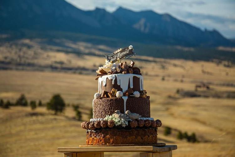Chocolate Explosion Drip Cake