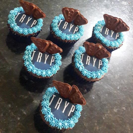 Corporate cupcakes