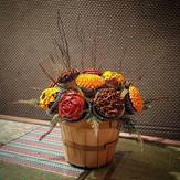 Thanksgiving cupcake centerpiece!