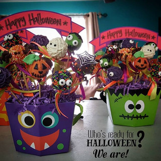 Who's ready for halloween___ We are! Wit