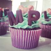 Cupcakes feliz cumpleaños