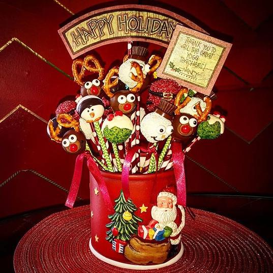 Christmas arrangements!