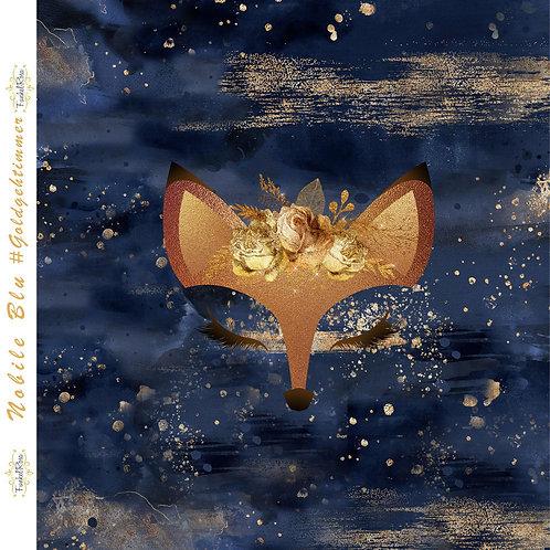 Panel Fuchs Nobile Blu ca. 60x60cm