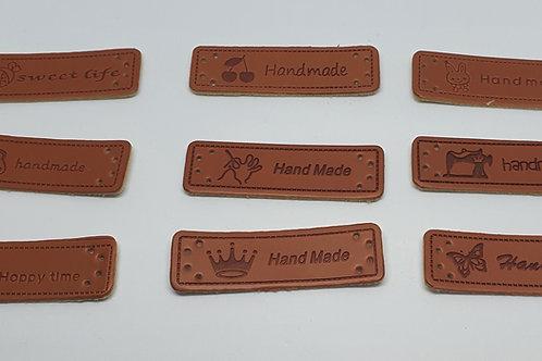 Leder Label Handmade