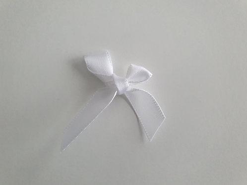XL Schleife Weiß