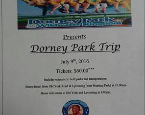 Dorney Park Trip