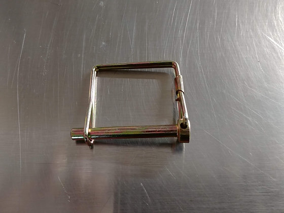 Square Snapper Pin