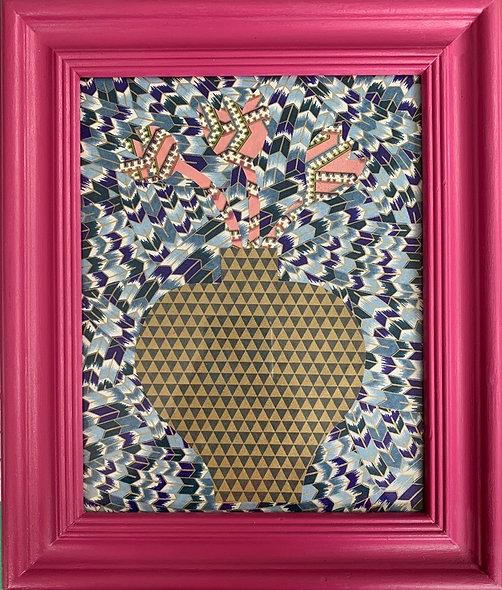Hannah Watts, 'Zigzag Tulips' 2020
