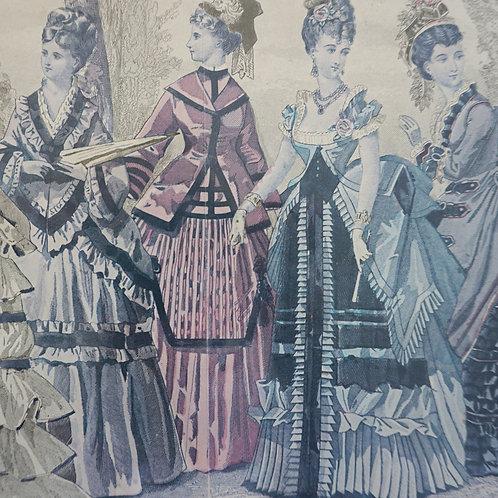 Five Ladies Fashion Print