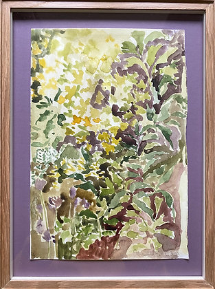 Beatrice Hasell-McCosh, 'Flowerbed in May' 2020