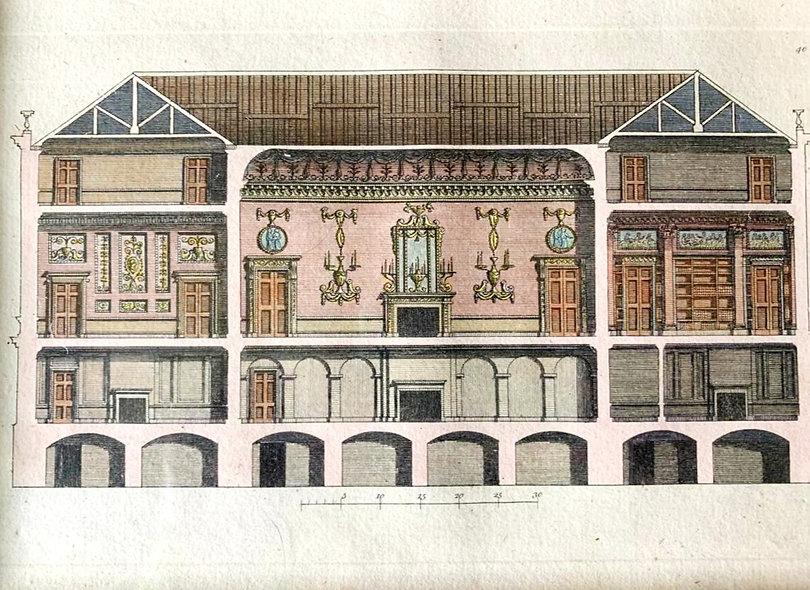 John Cruden 18th Century Architectural Print