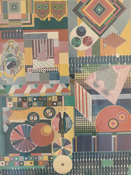 Eduardo Paolozzi Original Poster for Habitat 1973
