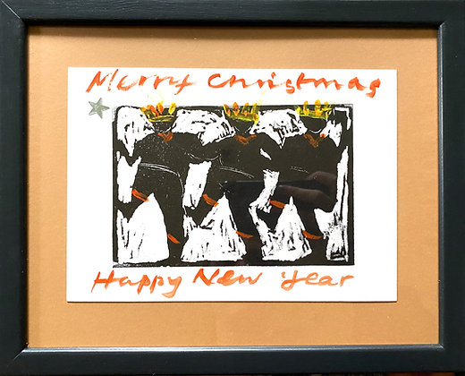 Rose Hilton, 'Christmas Card'
