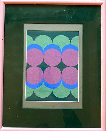 Emerald Blenkin, 'Experimental Print' 2020