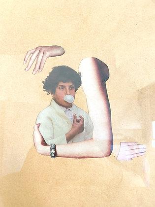 Sophie Siem, Untitled, collage on paper, 2016