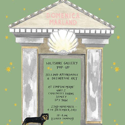 Gallery Pop-up 23rd November- 4th December 2021