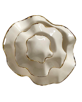Joanna Ling, 'Nest Bowl with Gold Lustre' 2020
