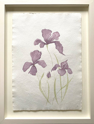 Jess Wheeler, 'Iris (Purple)' 2021