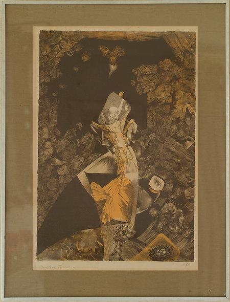Dorothea Tanning, Bateau Blue, The Grotto, 1950