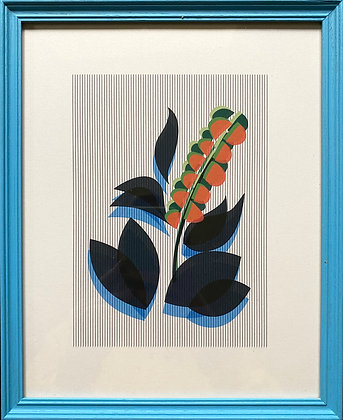 Emerald Blenkin, 'Lone Anthus (Blue)' 2020
