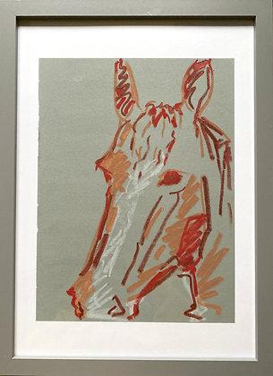 Lydia Merrett, 'Untitled (Horse III)' 2020