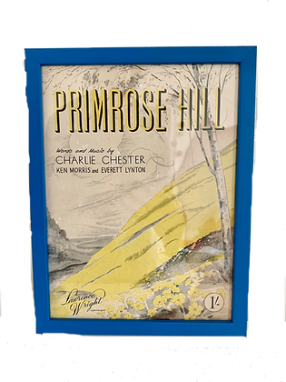 Primrose Hill Score Cover, 1956