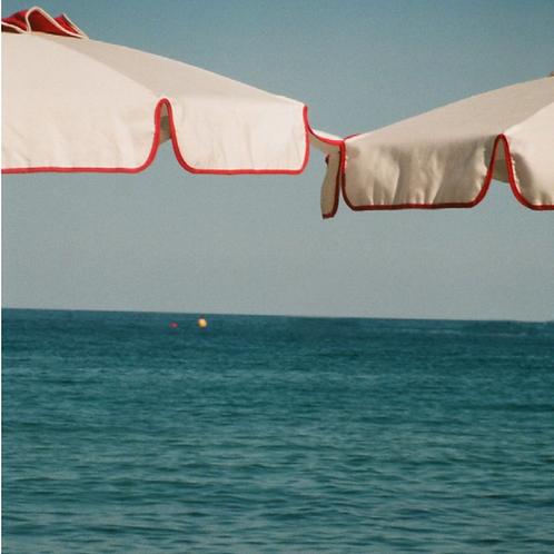 Jasper Cable-Alexander, 'Victor the Umbrella Man' print, 2018