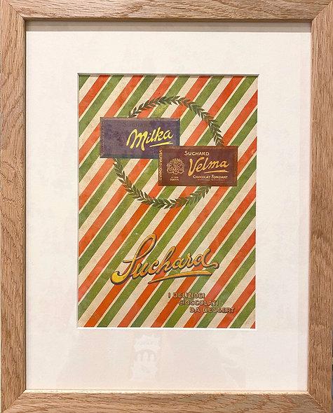 Suchard Chocolate Print, 1960