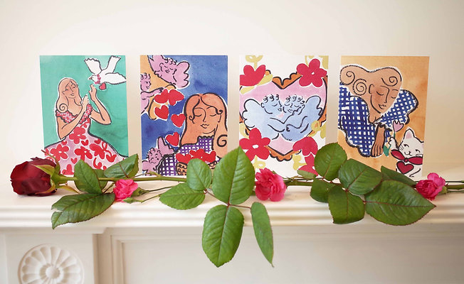 Willemien Bardawil, 'Sweet Valentine Cards (Multi Pack)'
