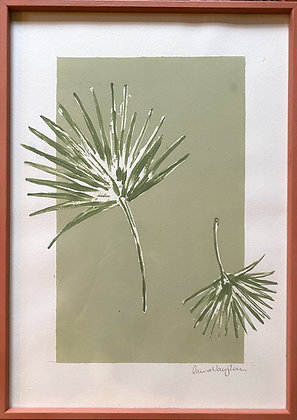 Laura Vaughan, 'The Palm Pair' 2020