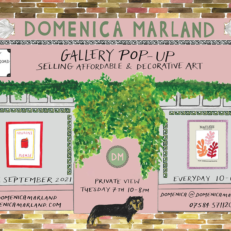 GALLERY POP UP PRIVATE VIEW